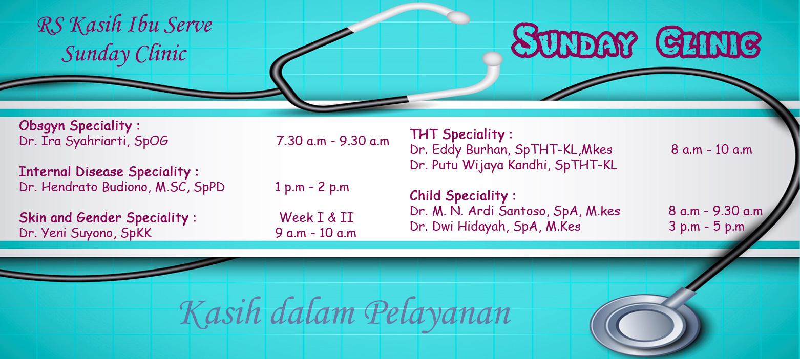sunday clinic Slider eng